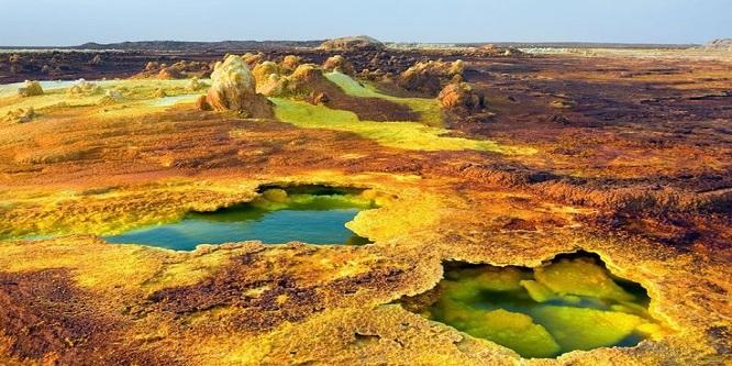 ETHIOPIAN TOXIC HOT SPRINGS